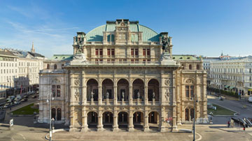 Wiener Staatsoper. Photo: Michael Pöhn